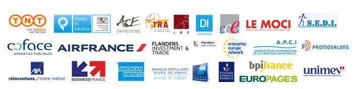 Logos Partenaires - Rencontres Export 75